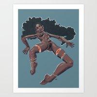 Splayed Art Print