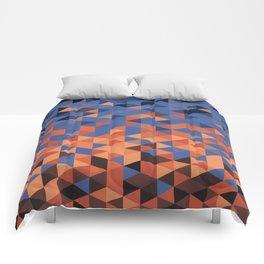 Dusk Pixels  Comforters