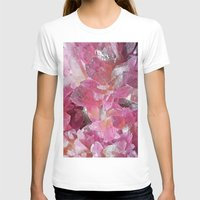 minerals T-shirts featuring Pink Gemstone by Kristiana Art Prints