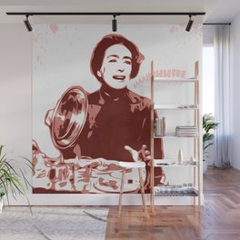 Joan Crawford - Aaaahhhh!!! - Pop Art Wall Mural