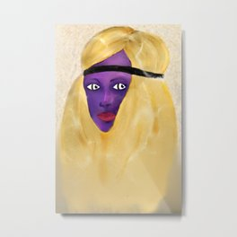 Purple Beauty Metal Print