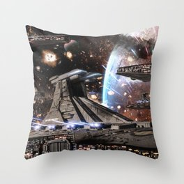 All out War for Stars Throw Pillow