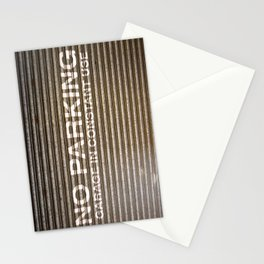 Garage in Constant Use Stationery Cards
