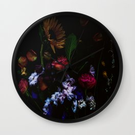 Moody Wild Finds Wall Clock