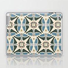Blue Tulips - Circle Pattern Laptop & iPad Skin