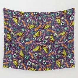 Eyeballs & Pizza Wall Tapestry