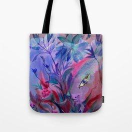 Fairy Bunny in Hiding Tote Bag