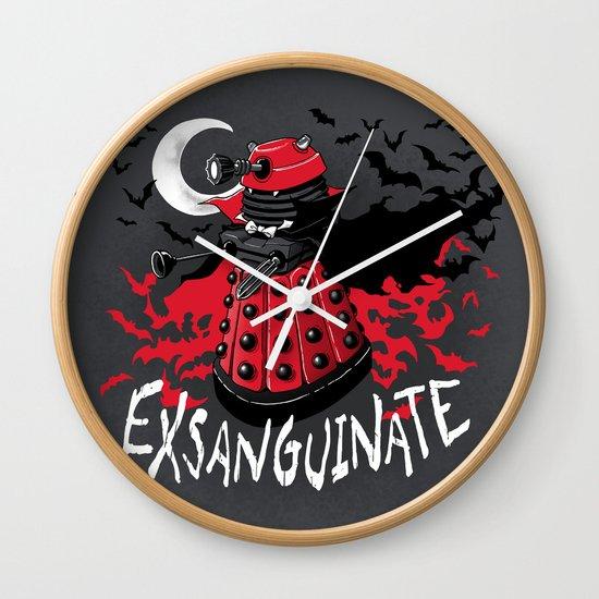 Exsanguinate! Wall Clock