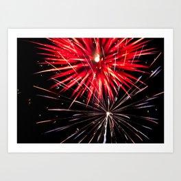 Geometric Firework 18 Art Print
