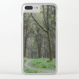 Spring Walk Clear iPhone Case