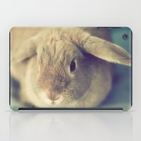 bunny iPad Cases featuring Bunny by Jessica Torres Photography