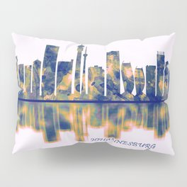 Johannesburg Skyline Pillow Sham