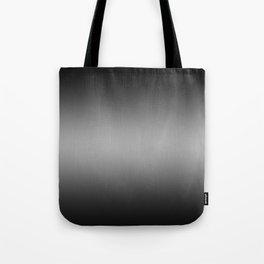 Black to White Horizontal Bilinear Gradient Tote Bag