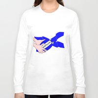 scotland Long Sleeve T-shirts featuring Rugby Scotland Flag by mailboxdisco