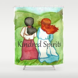 Kindred Spirits Anne of Green Gables Shower Curtain