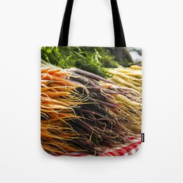 Market Carrots Tote Bag