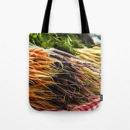 Market Carrots Tote Bag