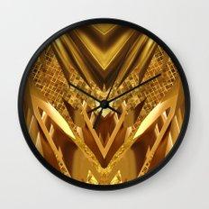 DRAGON'S GOLD Wall Clock