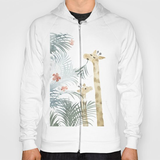 Two Giraffes Hoody