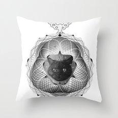 Spirobling XXII Throw Pillow