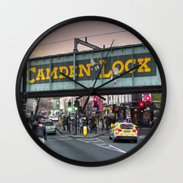 Camden Lock Railway bridge Wall Clock