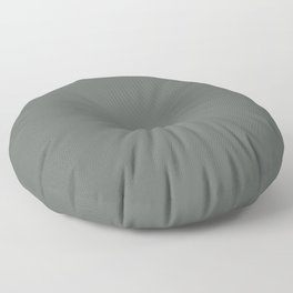 Best Seller Dark Muted Green Grey Solid Color Inspired by Jolie Paint 2020 Color of the Year Legacy Floor Pillow