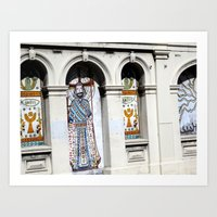 religion Art Prints featuring religion by Hannah
