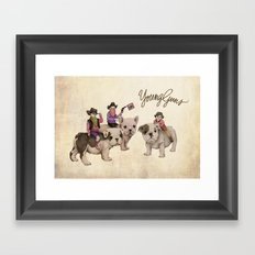 Young Guns Framed Art Print