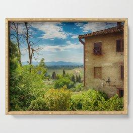 Tuscany, Italy Serving Tray