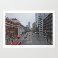 vancouver Art Prints featuring Vancouver by CouveCollective