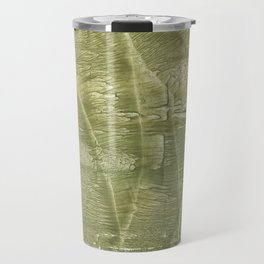 Dark khaki watercolor Travel Mug