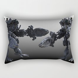 Steampunk Robot Rectangular Pillow