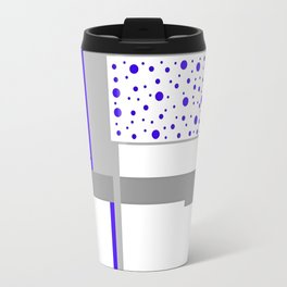 """CREATIVE ART PRINT WITH GRAY AND CLUE """"KEVIN CLUES"""" Travel Mug"""