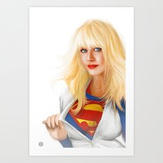 MOST ELIGIBLE KRYPTON Art Print