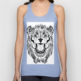The Four Eyed Lion Unisex Tank Top