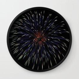 Firework 1 Wall Clock