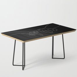 Black Pinky Swear Coffee Table