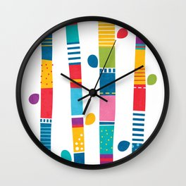 Coffea Forest Wall Clock