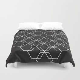 Squared Out Duvet Cover
