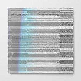 Morden Textures Metal Print