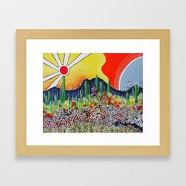 Nature's City Framed Art Print