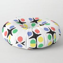 Modernist Pattern Floor Pillow