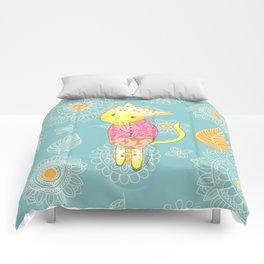 Dancing Cat Comforters