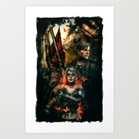 silent hill Art Prints featuring Silent Hill 2 - Atonement  by Tatiana Anor