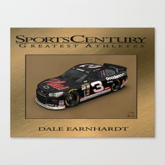 My #DaleEarnhardtSr Daytona win art. Canvas Print