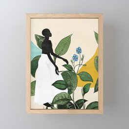 Mesmerized by nature  Framed Mini Art Print