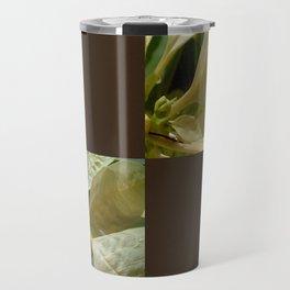 Pale Yellow Poinsettia 1 Blank Q3F0 Travel Mug