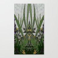 plants Canvas Prints featuring Plants by Gun Alfsdotter