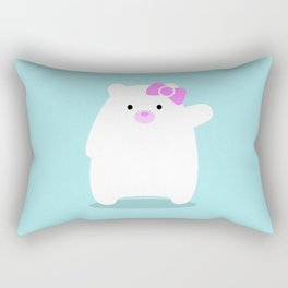 Hello Cub! Rectangular Pillow