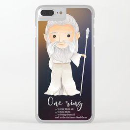 One ring Clear iPhone Case